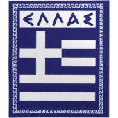 """Αυτοκόλλητο Σημαια """"Ελλας"""" Απλη Μικρη 6Χ5Cm 24552 OEM"""