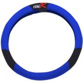 Κάλυμμα Τιμονιού Υφασμα Tyre R Μαυρο-Μπλε 12101 OEM