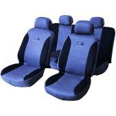 Κάλυμμα Spider Airbag 60/40 Μαυρο-Μπλε Σετ 6 Τεμ 11631 OEM