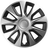 """Τάσια 15"""" Stratos 118654 Silver & Black Cbx 34282 OEM"""
