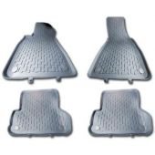 Πατάκια Bmw E36 4D 91-98 -Γκρι- E46 2&4D 98-05 4 Τεμ 33005 OEM