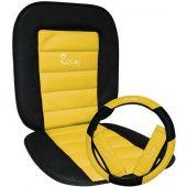 Πλατοκάθισμα Racing Σετ Καθίσματος-Τιμονιού-ζωνών Κιτρινο 11275 OEM