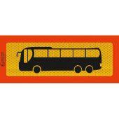 Πινακίδα Φορτηγού Αυτοκόλλητο Π.3M.340 (Λεωφορειο) 24633 OEM