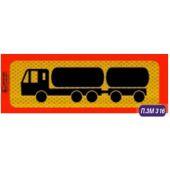 Πινακίδα Φορτηγού Αλουμινιου Π.3M.316 24615 OEM