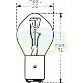 Λάμπα Trifa Moto 00523 12V 35/35W Ba20D 35563 Trifa