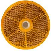 Αντανακλαστικά Στρογγυλά 60Mm Με Βιδα Πορτοκαλι 26108101 20241 OEM