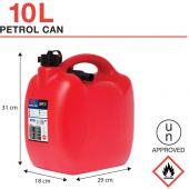 Μπετόνια Βενζίνης 10Lt Bidon10 Sum 29110 OEM