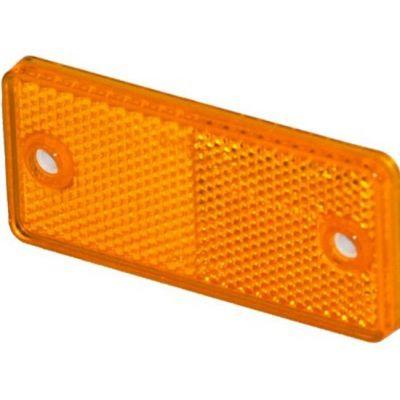 Αντανακλαστικά Στρογγυλά 90Χ40Mm Με Βιδα Πορτοκαλι 26109101 20243 OEM