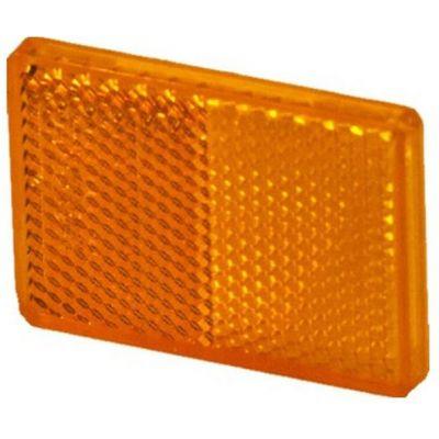 Αντανακλαστικά Παραλληλόγραμμα 94Χ44Mm Πορτοκαλι 26103101 20242 OEM