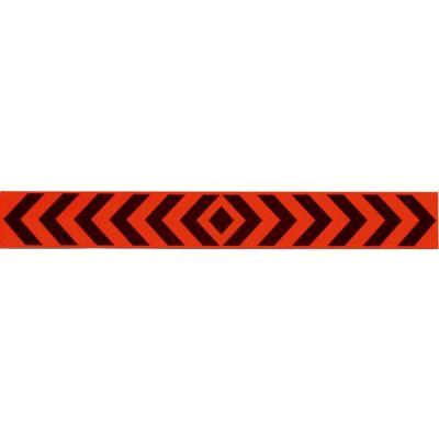 Αυτοκόλλητο Ταινια Αντανακλαστική Βελος Φθοριζων Πορτοκαλι 3M 50X7Εκ 24634 OEM