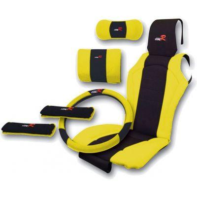 Πλατοκάθισμα Type-R Σετ Καθίσματος-Τιμονιού-ζωνών Κίτρινο 11269 OEM