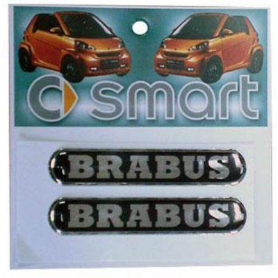 """Αυτοκόλλητο Σημα Καθρ. - Γριλιας Smart """"B"""" 2 Τεμ 42064 OEM"""